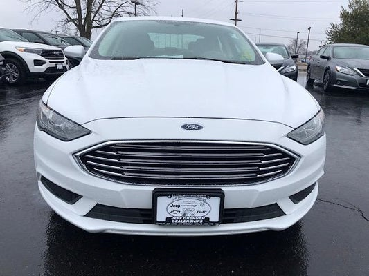 2017 Ford Fusion Se In Coshocton Oh Jeff Drennen
